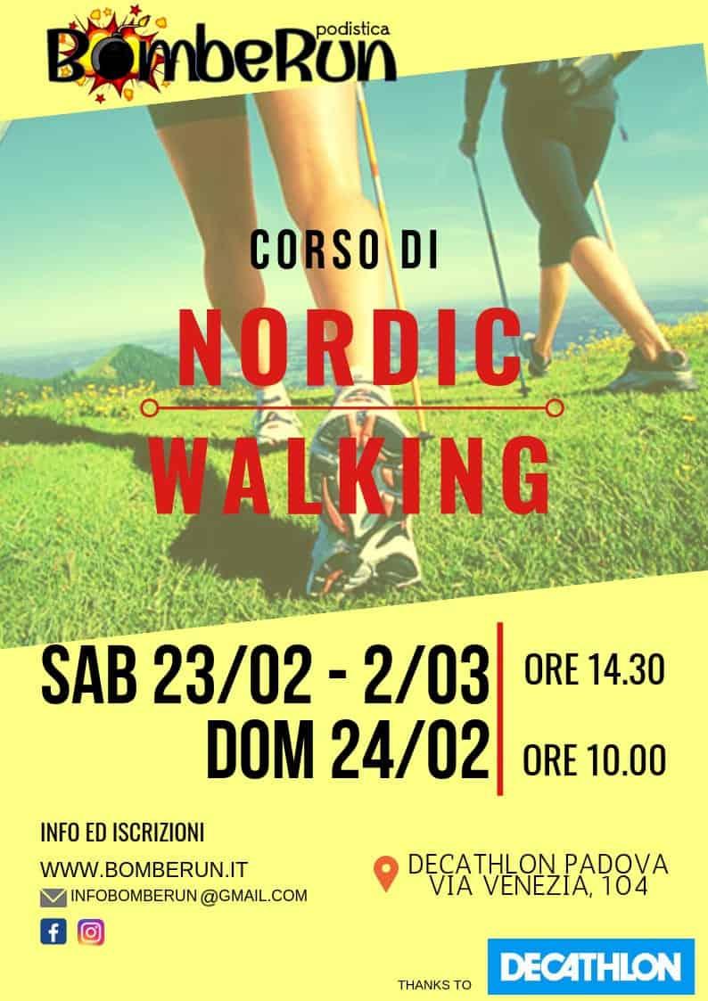 3a Lezione CORSO NORDIC WALKING