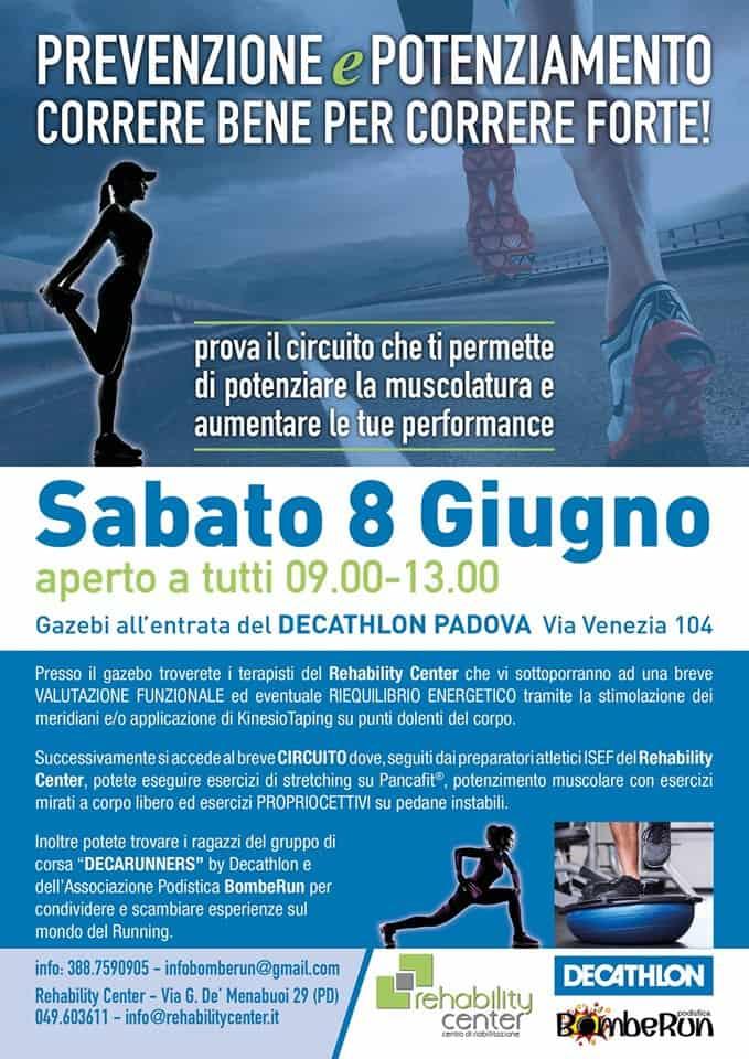 Evento: Correre bene per correre forte