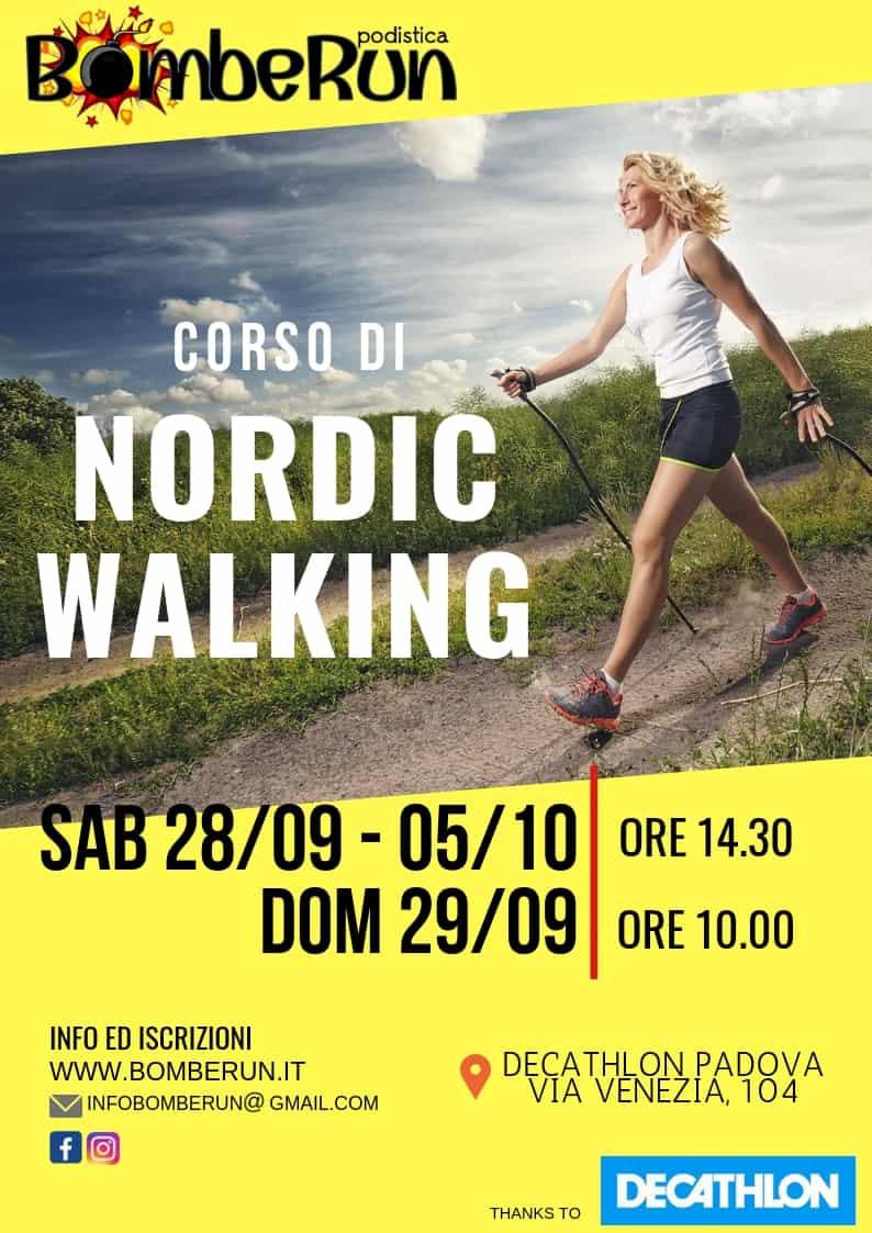 LEZIONE NORDIC WALKING
