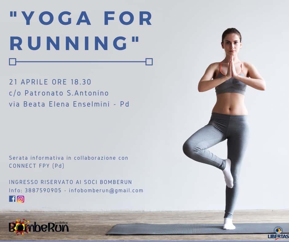 Evento YOGA for RUNNING
