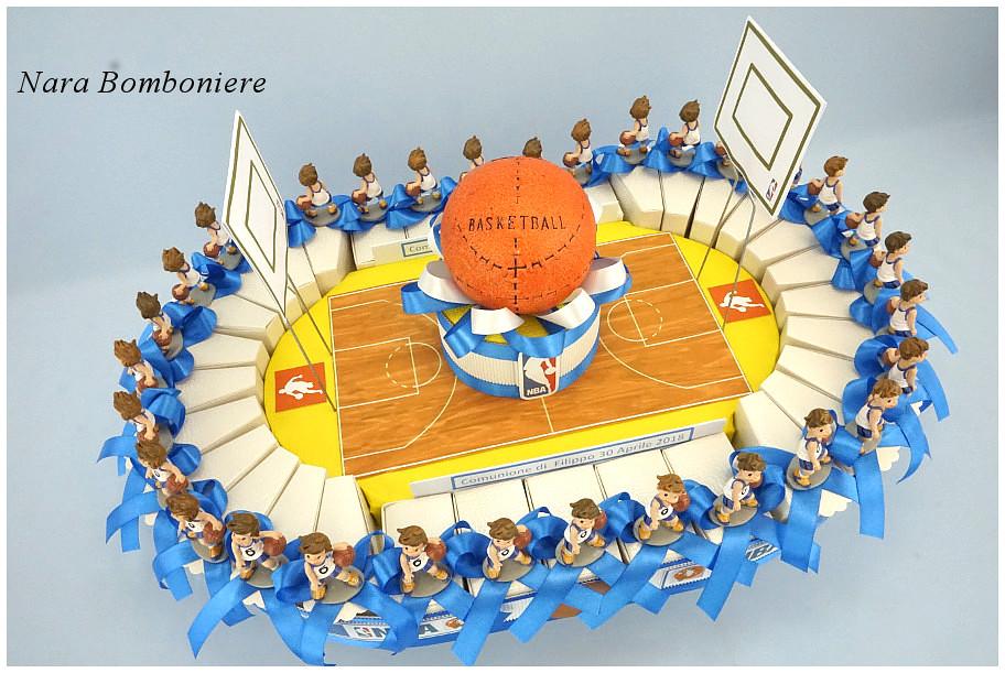 bomboniere basket da comunione