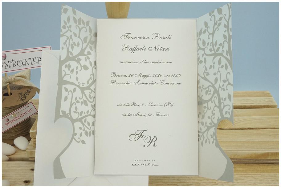 Partecipazioni Matrimonio Claraluna.Partecipazioni Claraluna In Omaggio Bomboniere Originali