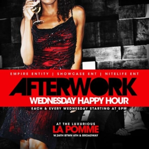 Afterwork Wednesday Happyhour La Pomme