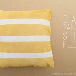 Chalk Painted Pillow