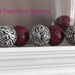 Duct Tape Deco Spheres