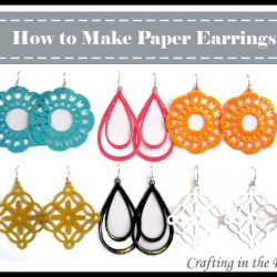 Paper Earrings