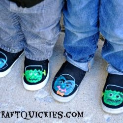 Glow in the Dark Monster Shoes
