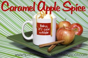 Caramel Apple Spice Drink