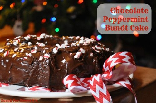 This rich chocolate peppermint cake is sure to impress this holiday season!