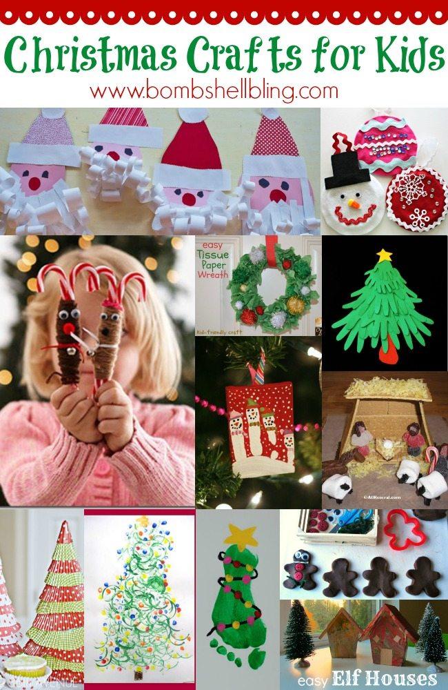 Kids Christmas Crafts.Christmas Crafts For Kids For 12 Days Of Christmas