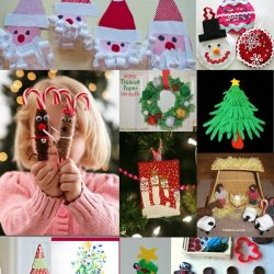 12 Kid Crafts for Christmas