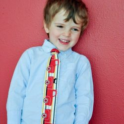 How to Make a Skinny Tie for Your Tiny Hipster