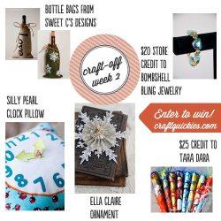 Holiday Craft Off Week 2: Tasty Treats!