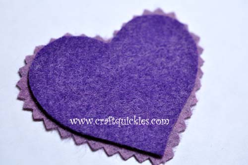 Romantic Stitched Wool Felt Headband2