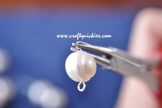 Triple Stack Pearl Earrings 5