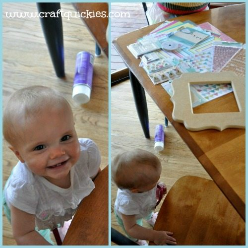 Dear Lizzy - Hope Springs Frame from Craft Quickies - Helper