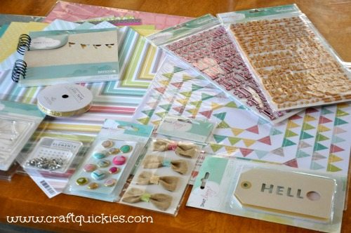 Dear Lizzy - Hope Springs Frame from Craft Quickies - Supplies