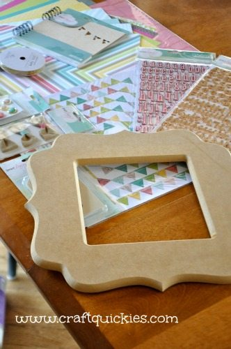 Dear Lizzy - Hope Springs Frame from Craft Quickies - Supplies2