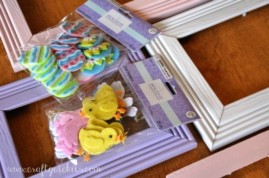 Easter Frame Makeover (stickers) from Craft Quickies