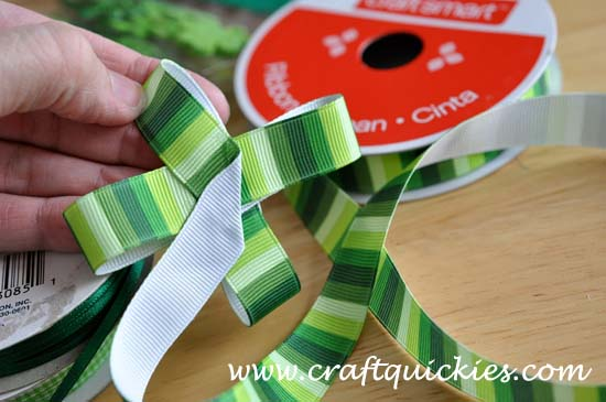 Lucky Charm Hair Bow from Craft Quickies 2