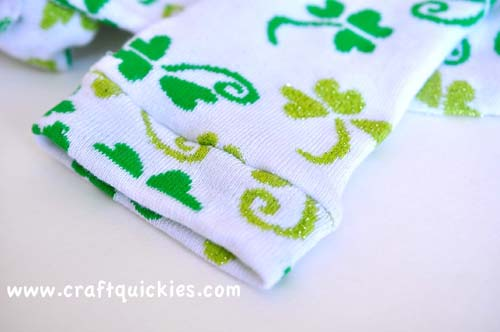 Lucky Legs - How to Make Baby Legwarmers from Craft Quickies10