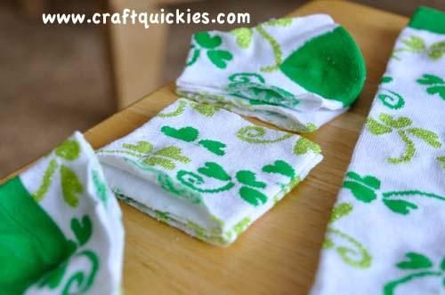 baby leg warmers cut socks