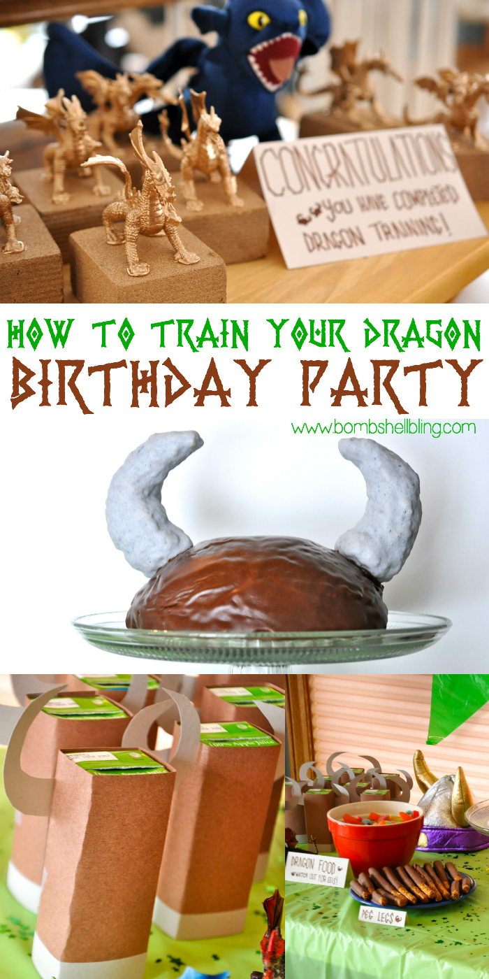 Excellent How To Train Your Dragon Party Ideas Games Decorations And Recipes Personalised Birthday Cards Veneteletsinfo