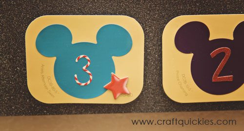 "The cutest DIY Disney Countdown with ""preparation"" activities each day! www.bombshellbling.com"