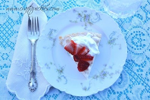 Pavlova Recipe - a light and delicious dessert that is super easy to make!