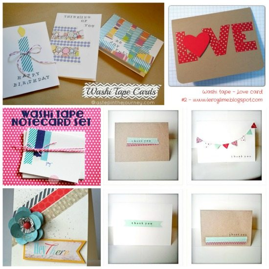 Washi Tape 30 Easy Fun Amp Simple Ideas For Crafting