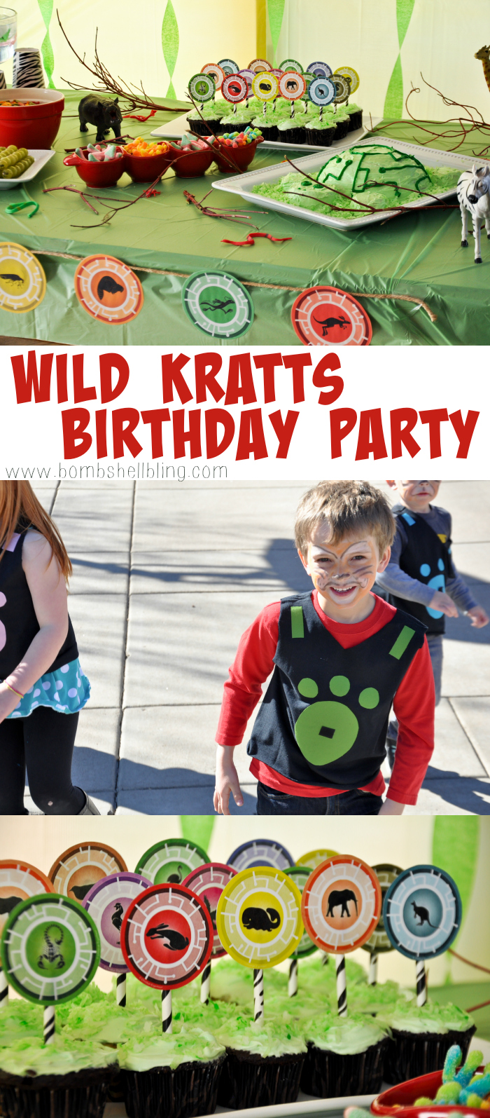 This Wild Kratts birthday party is THE CUTEST!!!