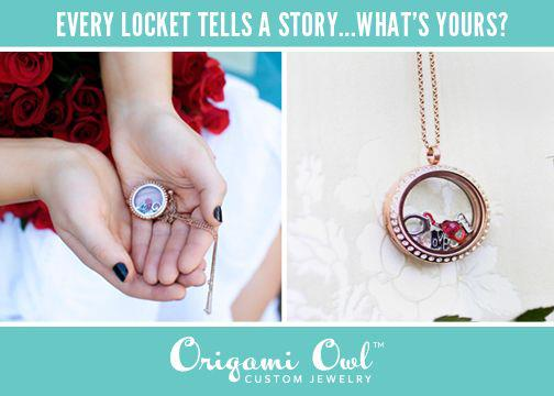 tell a story with a locket