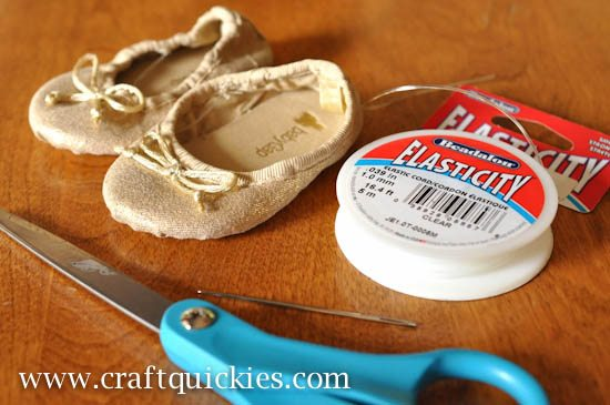 Baby Ballet Shoe Fix from Craft Quickies-1