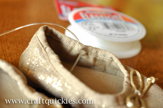 Baby Ballet Shoe Fix from Craft Quickies-5