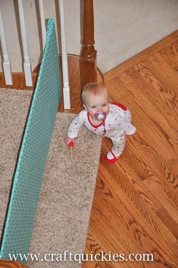Diy Baby Gate For Open Non Traditional Stairs And Banisters