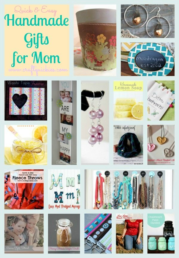 Handmade Gifts pin collage