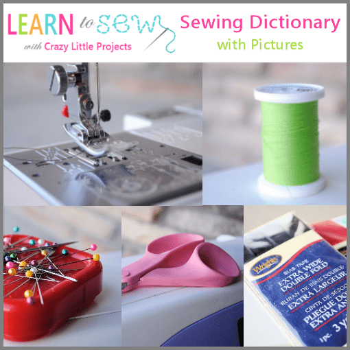 Sewingdictionarywithpictures