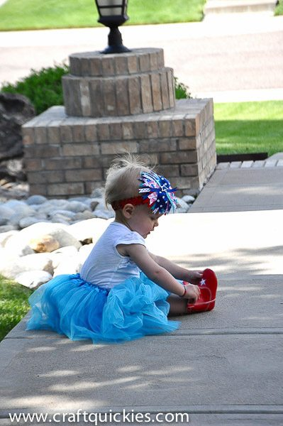 Firecracker Baby Headband from Craft Quickies-11