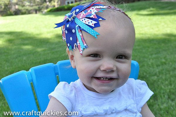 Firecracker Baby Headband from Craft Quickies-12