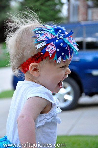 Firecracker Baby Headband from Craft Quickies-6