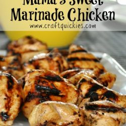 Mama's Sweet Marinade Chicken