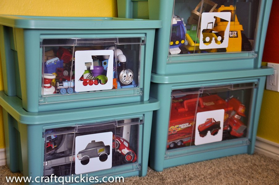 Toy Storage is simple with NEW Rubbermaid All Access Organizers!