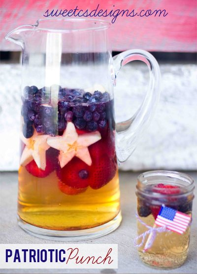 craft off Patriotic-punch-this-is-perfect-for-4th-of-July-or-a-homecoming-So-easy-to-make-and-delicious-pin-now-and-save-for-your-summer-bbqs