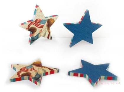 craft off star shaped coasters
