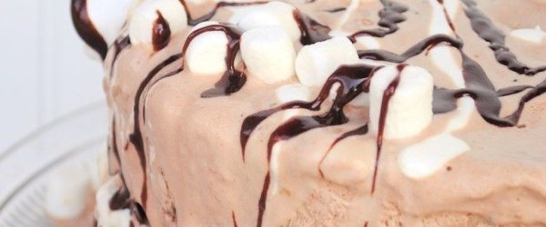 S'mores Ice Cream Cake Recipe