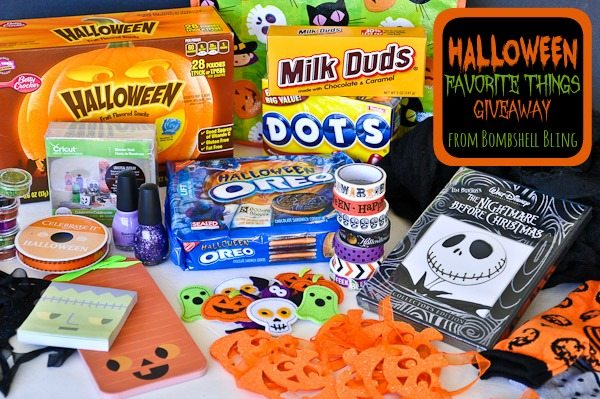 Halloween Favorite Things Giveaway from Bombshell Bling