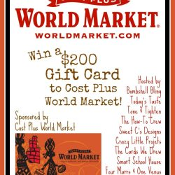 $200 World Market Gift Card Giveaway and Some Fab Fall Finds!