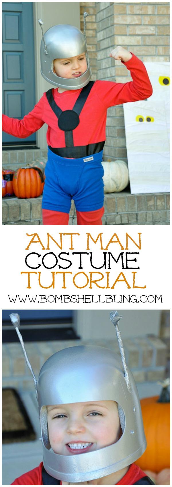 Ant Man Costume Tutorial
