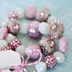 Breast Cancer Awareness Bracelet Tutorial