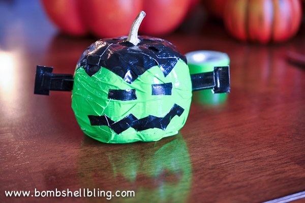 Duck Tape Pumpkins-11